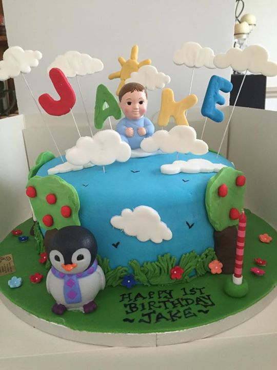 A Baby Jake cake a fun cake to make Caroline Gordon Cakes